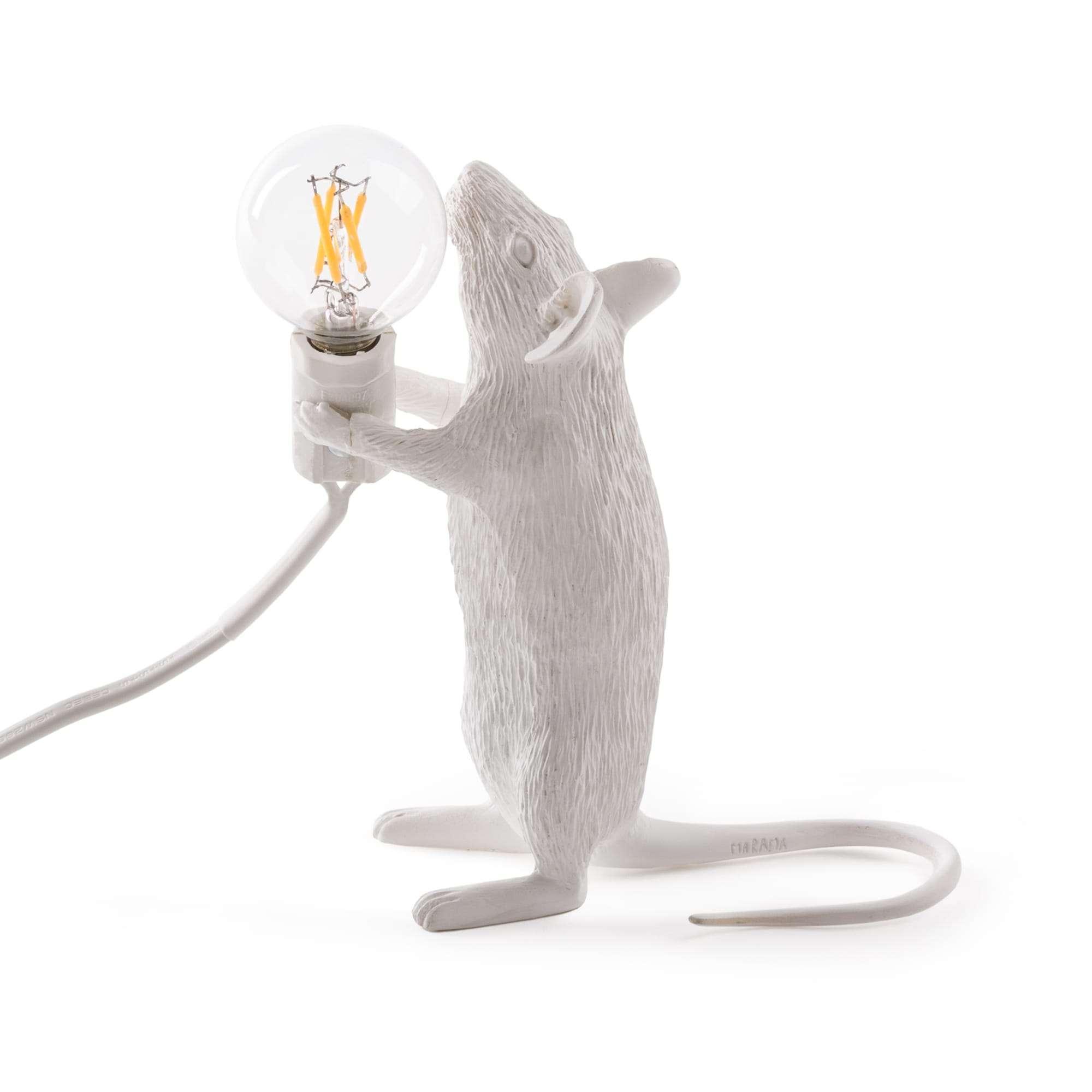 seletti mouse lamp lampada topo della pia home 1965. Black Bedroom Furniture Sets. Home Design Ideas