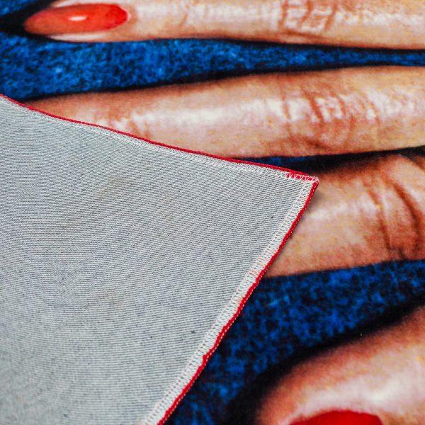 Seletti Toiletpaper Rectangular Rug Fingers 3