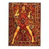 Seletti Toiletpaper Rectangular Rug Lady on Carpet 1