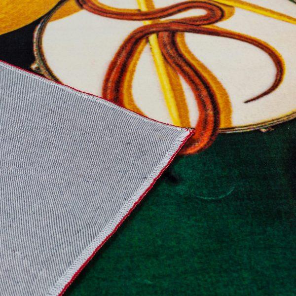 Seletti Toiletpaper Rectangular Rug Snakes 3
