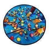 Seletti Toiletpaper Round Rug Snooker 1
