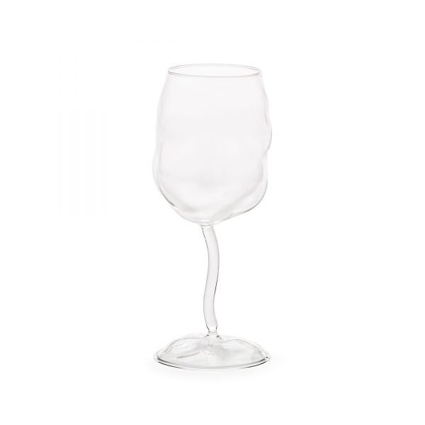 SELETTI GLASS FROM SONNY WINE GLASS SET OF 4 BASSI