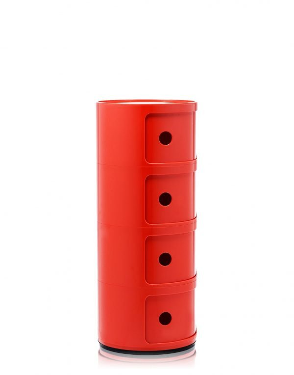 KARTELL COMPONIBILI H77 ROSSO 1