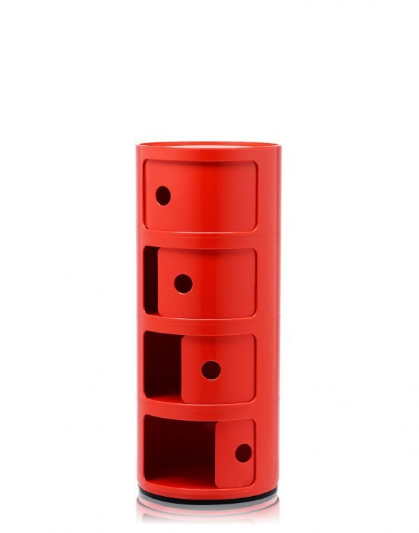KARTELL COMPONIBILI H77 ROSSO 3