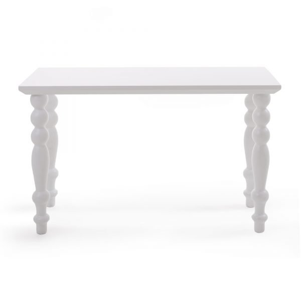 SELETTI HERITAGE COFFEE TABLE RECTANGULAR WHITE 2