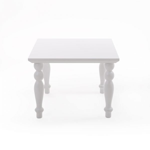 SELETTI HERITAGE COFFEE TABLE SQUARE WHITE 1
