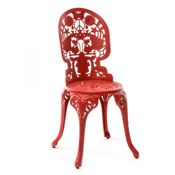 STUDIO JOB & SELETTI INDUSTRY COLLECTION SEDIA ROSSO 1