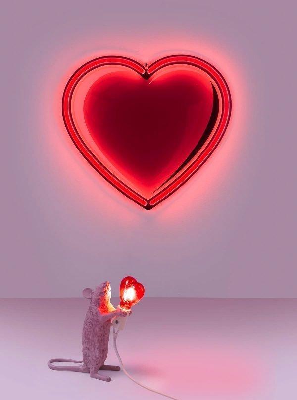 SELETTI LED HEARTH MOUSE LAMP EDIZIONE SPECIALE SAN VALENTINO 2018 INTRO