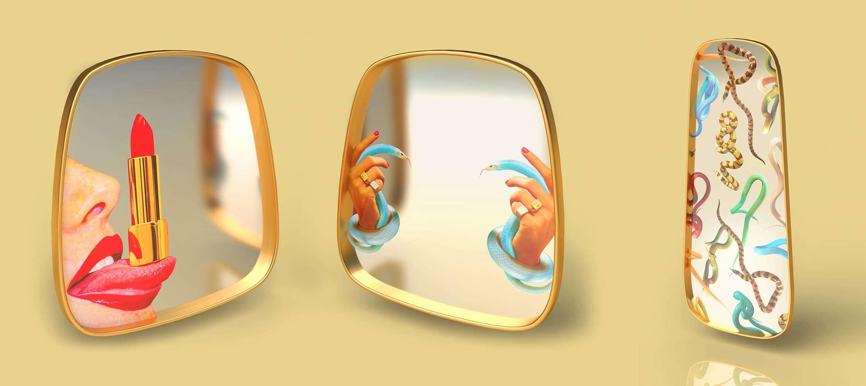 seletti toilet paper small gold的圖片搜尋結果