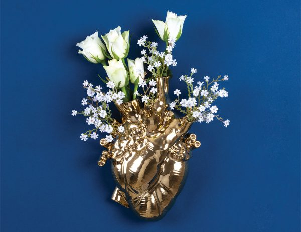 SELETTI LOVE IN BLOOM GOLD