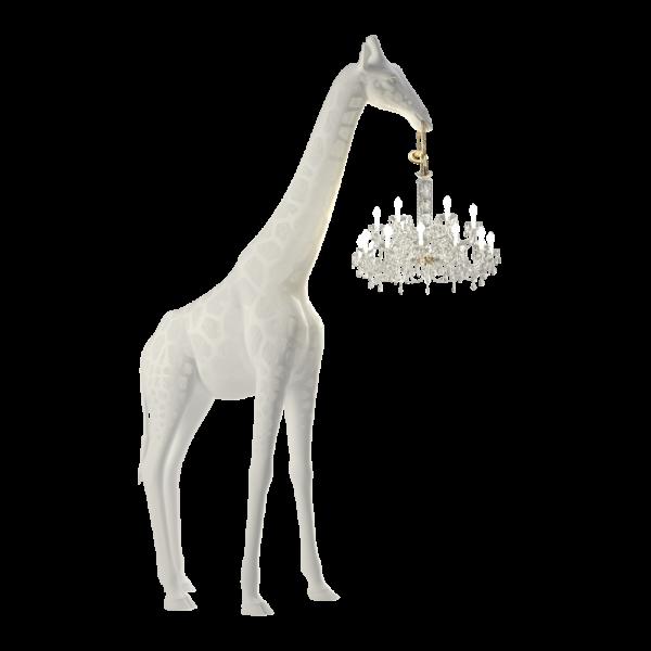 QEEBOO GIRAFFE IN LOVE LAMPADARIO 1