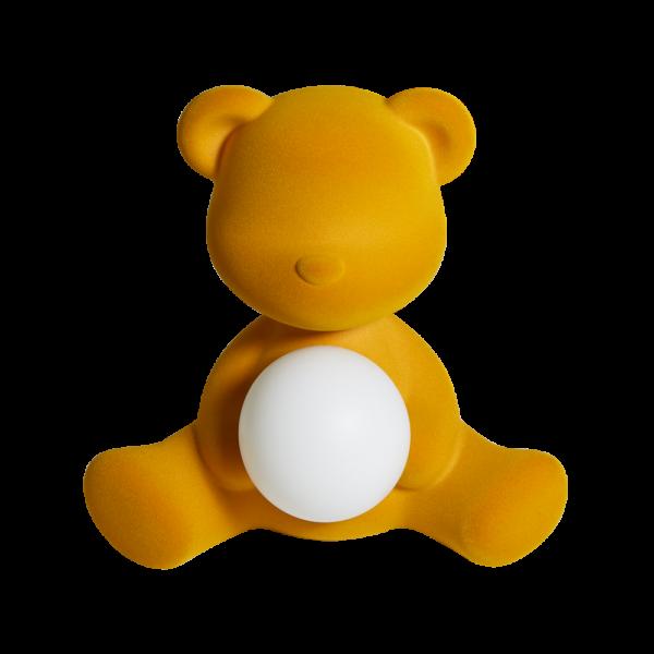 QEEBOO TEDDY GIRL FINITURA VELLUTO ORO SCURO