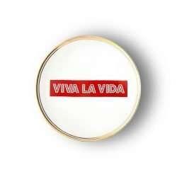 PIATTO VIVA LA VIDA Ø 17 CM