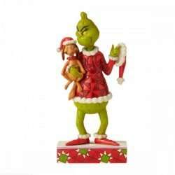 GRINCH WITH MAX UNDER HIS ARM
